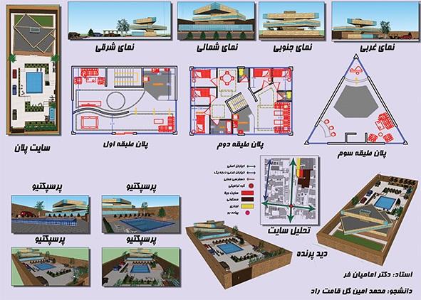 طرح 1 معماری، پروژه خانه معمار 00117