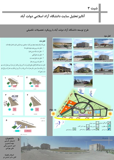 طرح ارشد مطالعات دانشکده معماری