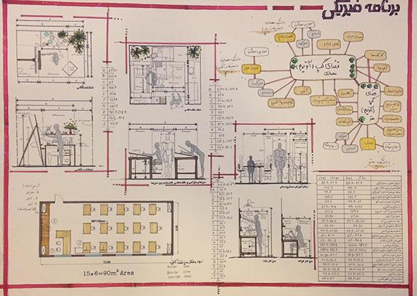 طرح معماری ارشد طراحی دانشکده معماری