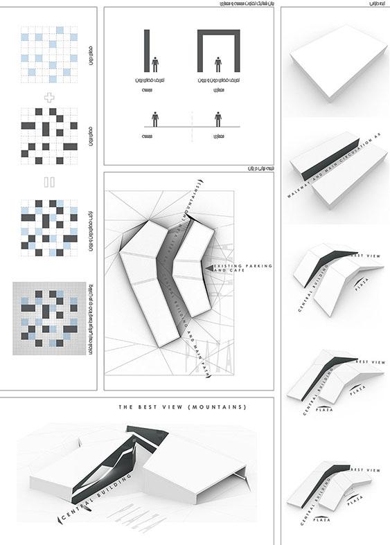 طرح ارشد طراحی دانشکده معماری دانشگاه