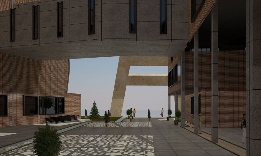 پایان نامه طراحی دانشکده معماری