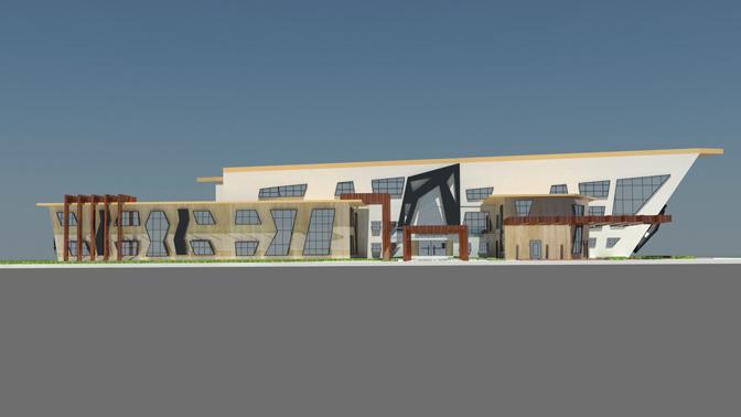 پروژه طرح نهایی طراحی دانشکده معماری