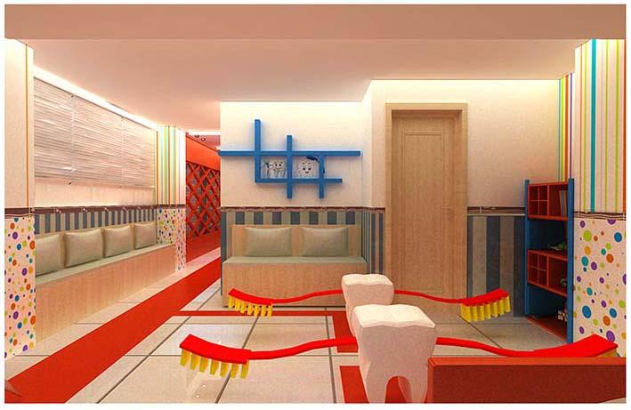 طراحی داخلی دکوراسیون دندانپزشکی