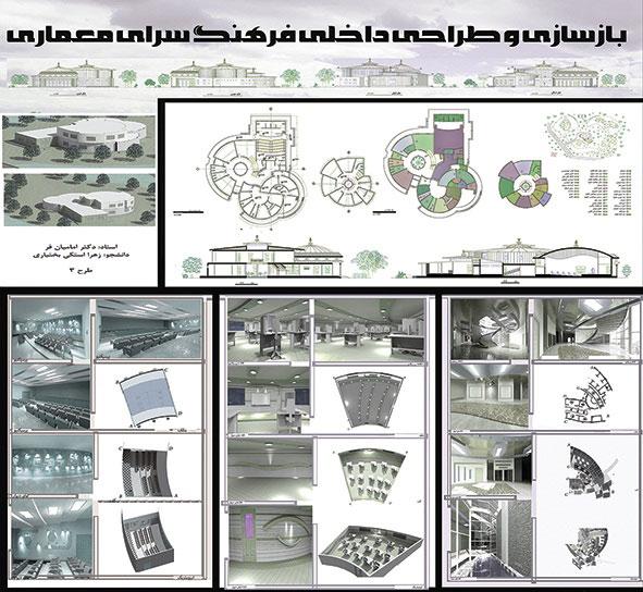 طرح معماری 3 طراحی داخلی مسکونی 005111