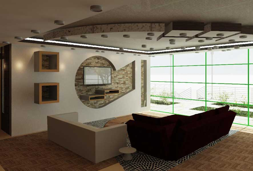 طرح معماری 3 طراحی داخلی خانه 00583