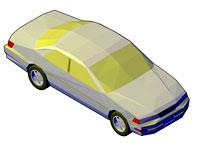 dwg انواع ماشین 3D فایل