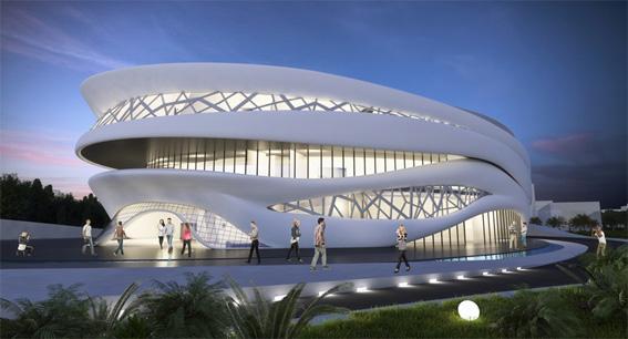 طرح نهایی پروژه سالن کنسرت رویکرد موسیقی ایرانی