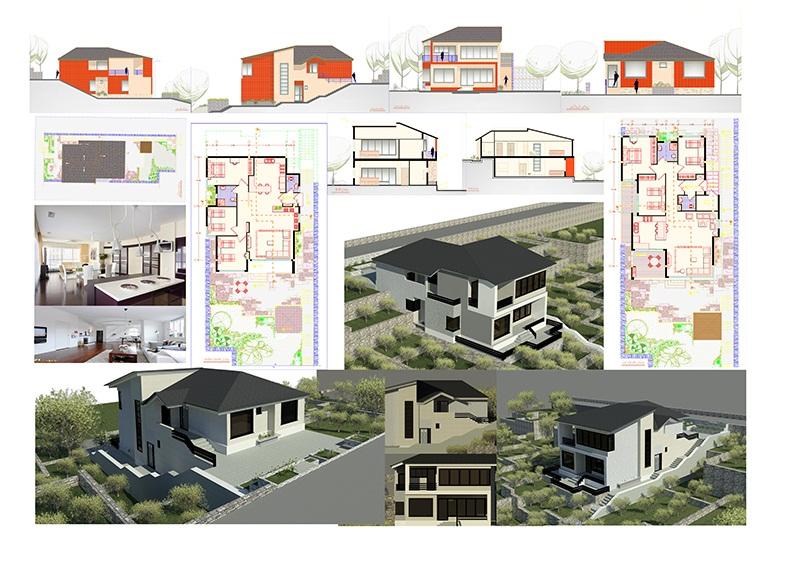 طرح 2 ارشد پروژه ویلا سازی 001518
