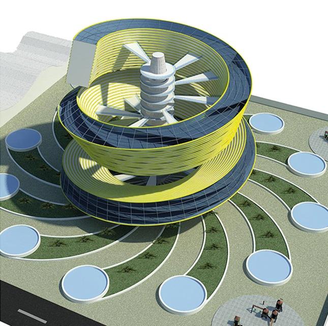 پروژه طرح 5 معماری مجتمع مسکونی