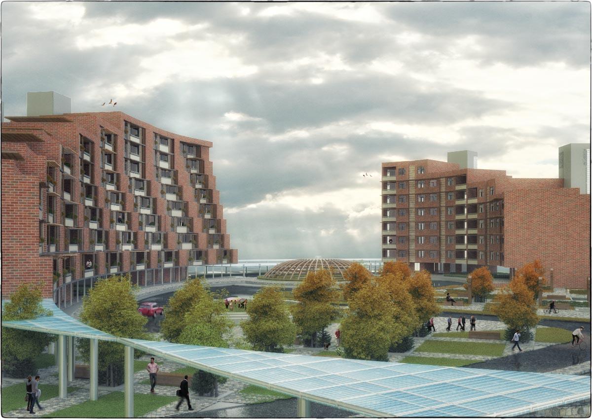 مجتمع مسکونی انرژی های تجدید پذیر