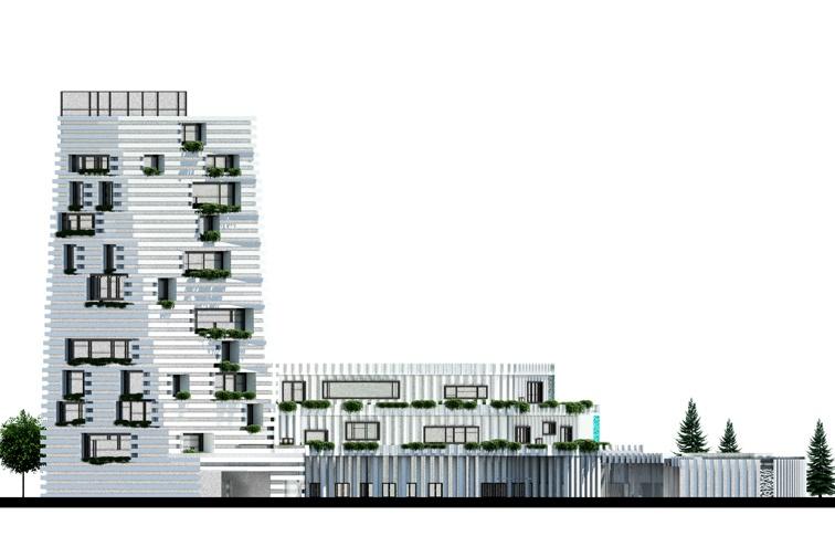 مجموعه مسکونی با رویکرد همساز با اقلیم