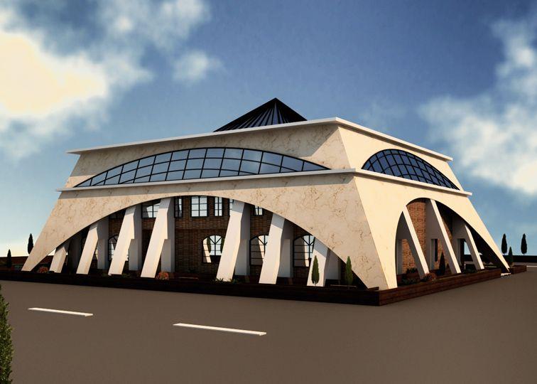 پروژه مرکز خرید رویکرد اموزش محوری