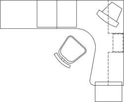 dwg مبلمان اطاق خواب Autocad