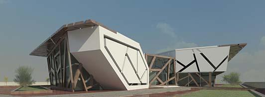 طرح نهایی موزه نور آثار سهروردی