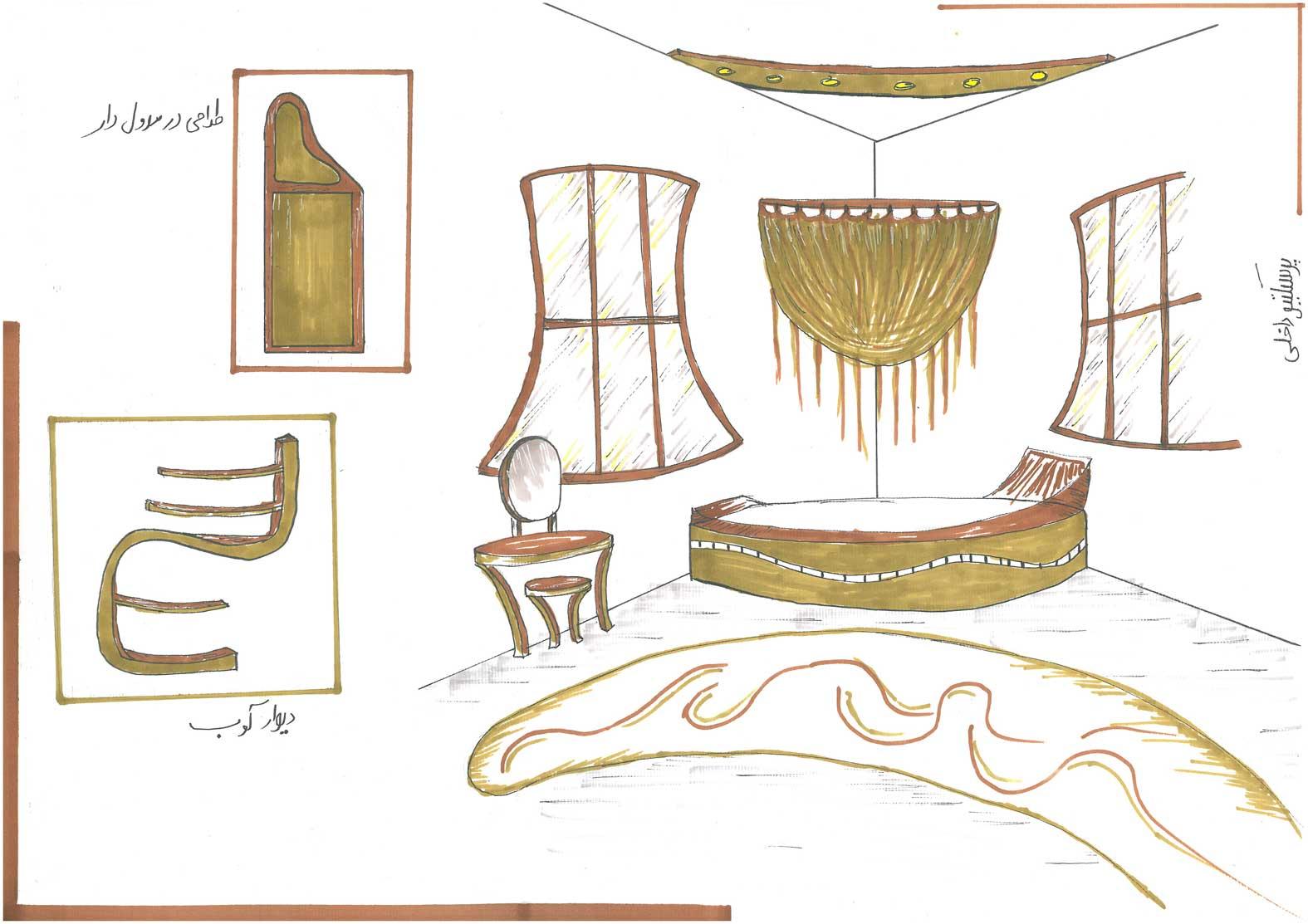 مقدمات طراحی معماری داخلی0134