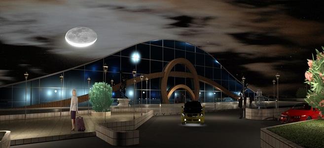 طرح نهایی پروژه پایانه اتوبوسرانی